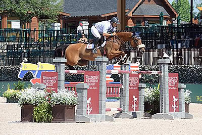 Samuel Parot and Couscous Van Orti Win $86k 1.50m Suncast Challenge to Wrap Up Tryon Spring