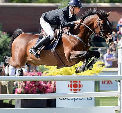 Richard Spooner and Cristallo Repeat Victory in CNOOC Nexen Cup Derby at Spruce Meadows