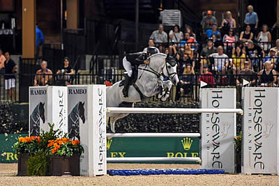 Vanderveen and Bull Run's Faustino De Tili Win $380k Horseware Ireland Grand Prix