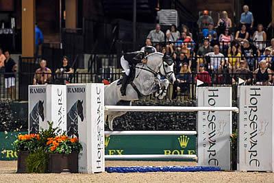 Vanderveen and Bull Run's Faustino De Tili Win $380k Horseware Ireland Grand Prix
