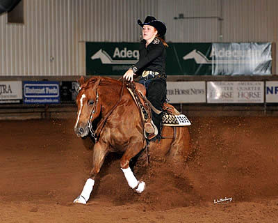 Hurd, Johnson, and Van Duys Earn Top Honors at USEF Youth Reining National Championships