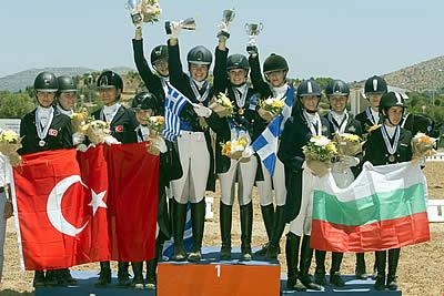 Huge Haul of Gold for Greece at Balkan Dressage Championships