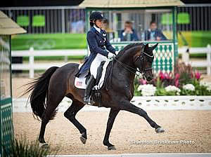 US Olympic Dressage Team Gives Strong Start at Rio Olympic Games
