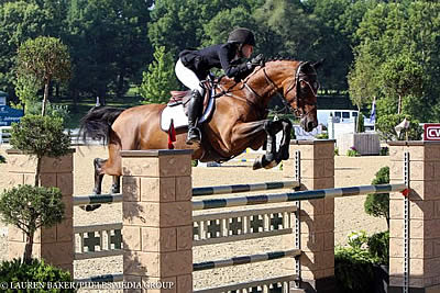 Brett Burlington Bests the Field in $10,000 Under 25 Grand Prix at Kentucky Summer Horse Show