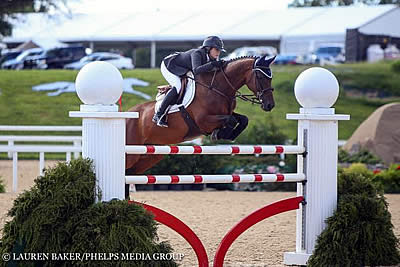 Tori Colvin and Cafino Capture $40k Bluegrass Festival Grand Prix at Bluegrass Festival Horse Show
