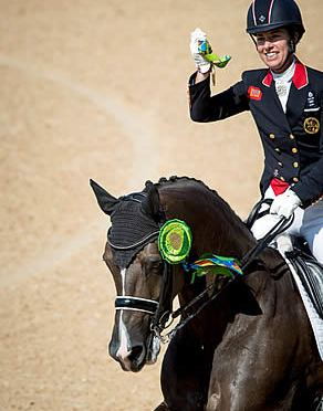 Dujardin and Her Horse with a Heart of Gold Do It Again