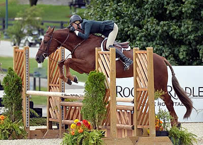 Jenny Karazissis and Puissance R Lead USHJA Pre-Green Incentive Championship