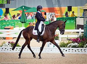 US Olympic Eventing Team Tied for Sixth after Dressage at Rio Olympic Games