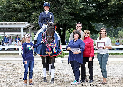 Lyle, Hartung, Stanley Claim Titles at Young & Developing Horse Dressage Nat'l Championships