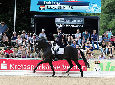 Endel Ots and Lucky Strike Ready for the Markel/USEF Young Horse National Championships