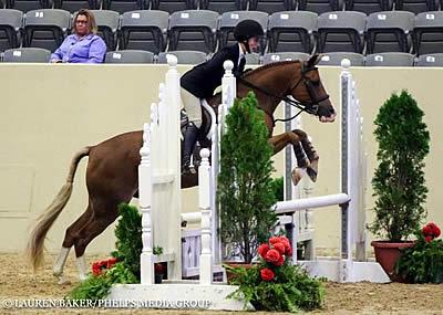 Caroline Passarelli Captures US Pony Medal Finals Championship Title