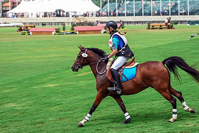 Pony Club Riders Receive Unique Competition Experience at Tryon International Equestrian Center