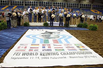 Setting the Stage for the 2016 SVAG FEI World Reining Championships for Senior Riders
