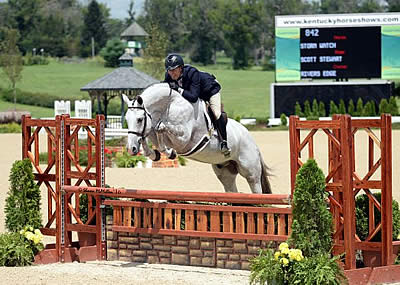 Scott Stewart and Storm Watch Take Over Lead in USHJA Pre-Green Incentive Championship