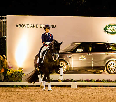 Land Rover Celebrates Winners of Central Park Horse Show