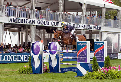 Kent Farrington Pilots Gazelle to the Top in $216k Longines FEI World Cup Jumping New York