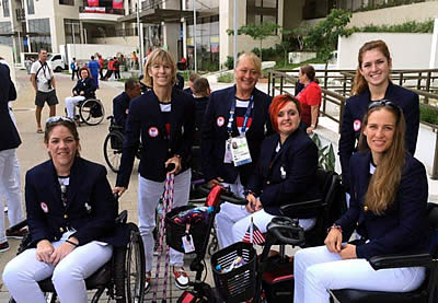 US Paralympic Equestrian Team Fit and Ready for Competition in Rio