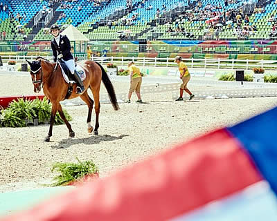 Strong Start for US Equestrian Team at the Rio Paralympic Games
