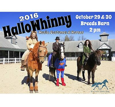 Horses Dress Up for Halloween at the Kentucky Horse Park
