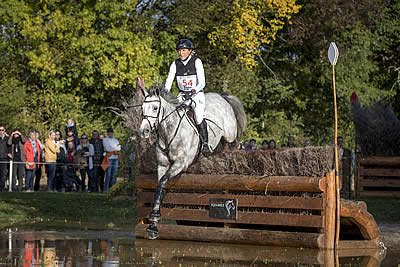 Olympic Medallists Burton and Klimke Take Young Horse Eventing Gold at Le Lion