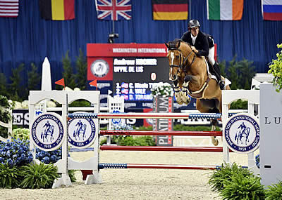 Andrew Kocher and Uppie de Lis Win Opening Speed Class at WIHS