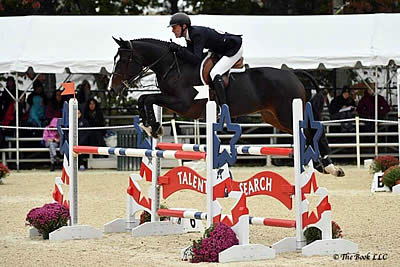 T. J. O'Mara Comes from Behind to Win USEF Show Jumping Talent Search Finals – East