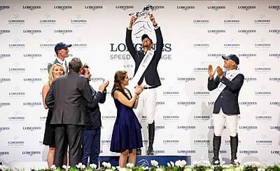 Kent Farrington, Nayel Nassar Emerge as Champions on Day 2 of Longines Masters of LA