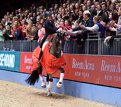 Valegro Retirement amongst the Live Broadcast Highlights of Olympia Horse Show