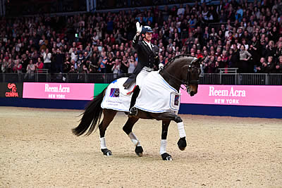 Dressage Stars Take Centre Stage on Opening Night of Olympia
