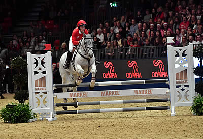 Pendleton Makes Her Show Jumping Debut at Olympia