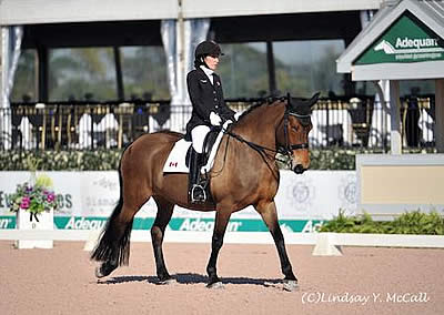 US Para-Equestrian Dressage Team Earns Blue at AGDF CPEDI3*