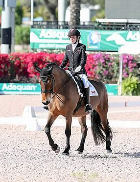 Robyn Andrews and Fancianna Capture CPEDI 3* Victory at AGDF