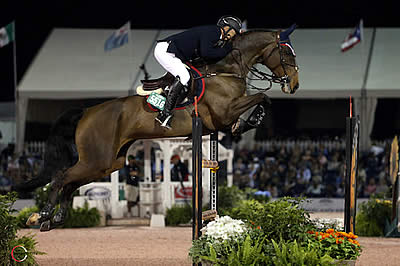 Enrique Gonzalez and Chacna Top $86 Marshall & Sterling Ins. Grand Prix CSI 2* at WEF
