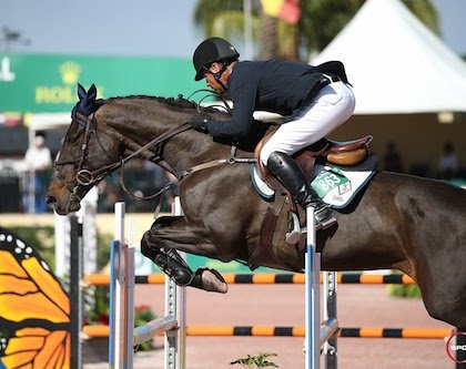 Jimmy Torano and Betagravin Win at the 2017 Winter Equestrian Festival
