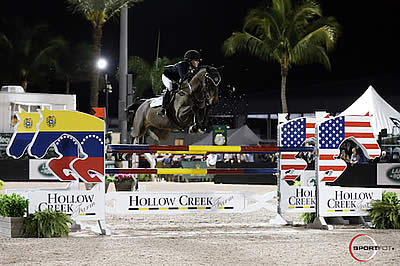 Burlington et al. Triumph in $25k Hollow Creek Farm Under 25 Grand Prix Series Team Event