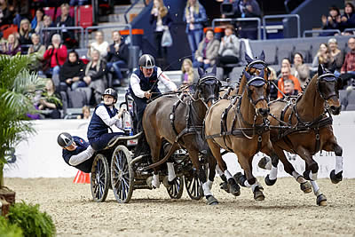 Seventh FEI World Cup Driving Title for Boyd Exell