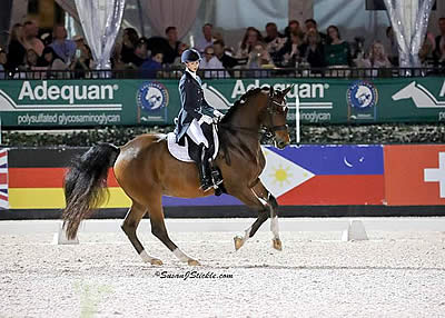 Laura Graves and Verdades Remain on Top in FEI Grand Prix Freestyle CDI-W at AGDF