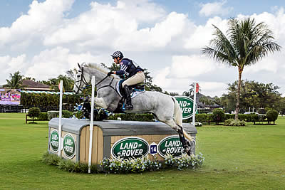 Boyd Martin Creates History with Third Consecutive Win at Wellington Eventing Showcase
