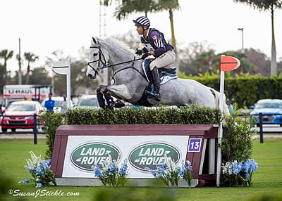 Boyd Martin Rides to a Three-Peat Victory at Wellington Eventing Showcase