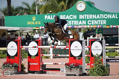 Karen Polle and With Wings Win $130k Ruby et Violette WEF Challenge Cup Round 9