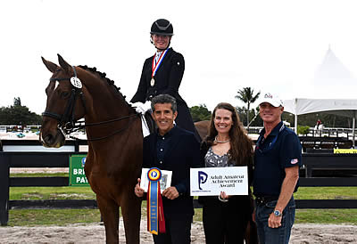 Ann Romney Honored with Piaffe Performance Adult Amateur Achievement Award at AGDF