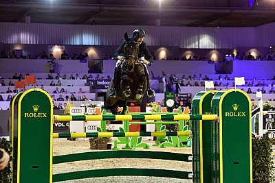 Leopold van Asten Wins Rolex Grand Prix at Indoor Brabant