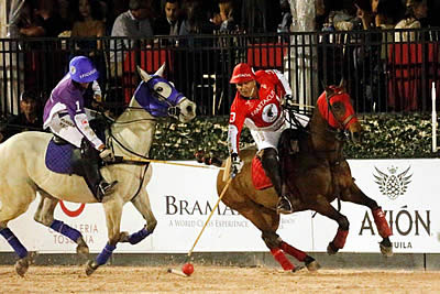 Witness $250k Gladiator Polo Final Match Sat., April 8, between Teams Spartacus and Spiculus