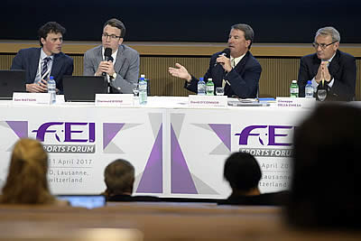 Equine and Human Athlete Welfare Key Focus on Day Two of FEI Sports Forum