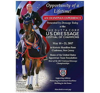 "Once in a Lifetime ""Olympian Experience"" Offered at US Dressage Festival of Champions"