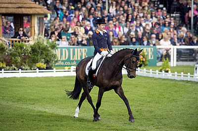 Christopher Burton Takes Dressage Lead with Graf Liberty at Badminton