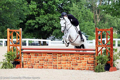 Jeff Gogul and Snowbird Soar to Victory in $5,000 USHJA National Hunter Derby