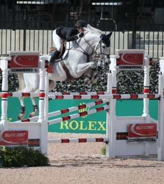 Catherine Tyree and Bokai Win $35k Suncast Commercial 1.45m Welcome Stake CSI 2* at Tryon