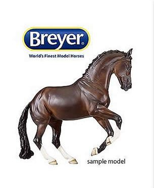 Kim Haymond Wins Custom Breyer Horse Model in USET Foundation's PonyUp! Fundraising Contest