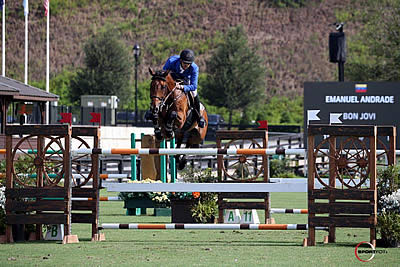 Emanuel Andrade and Bon Jovi Take $35,000 1.45m Tryon Challenge CSI 2*
